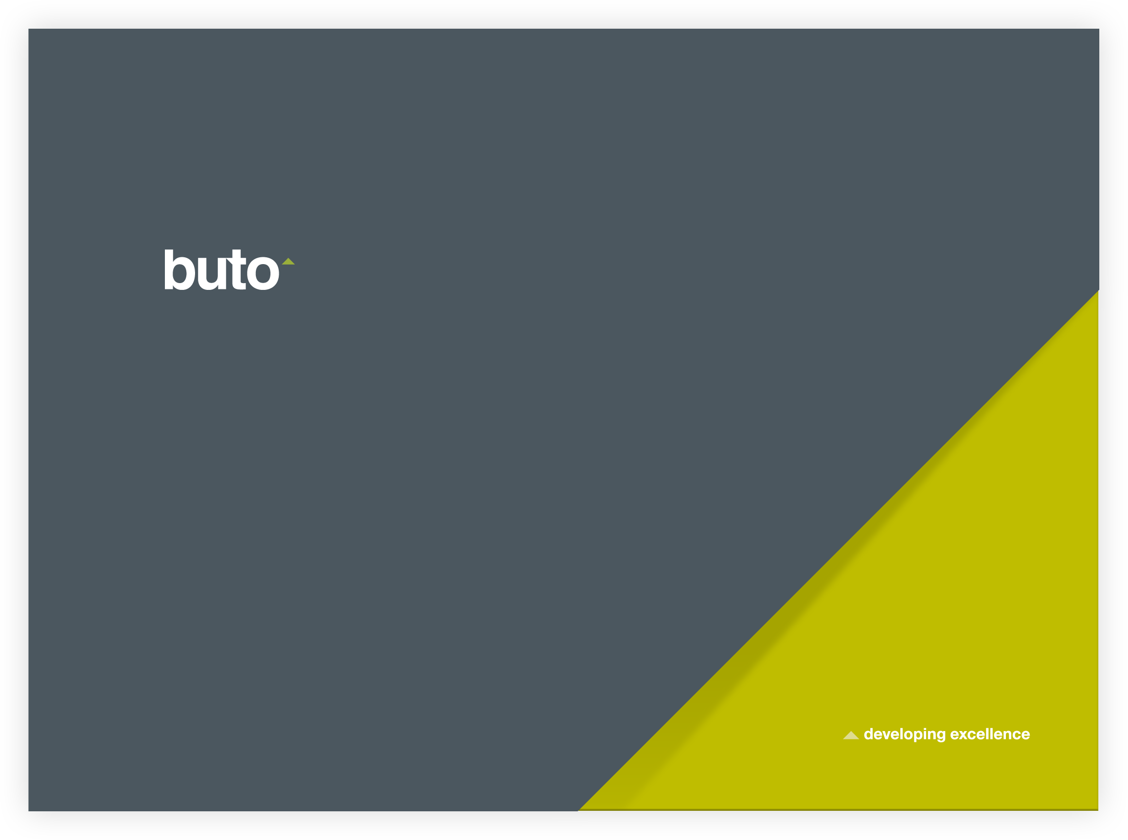 Buto Stationery Folder Design