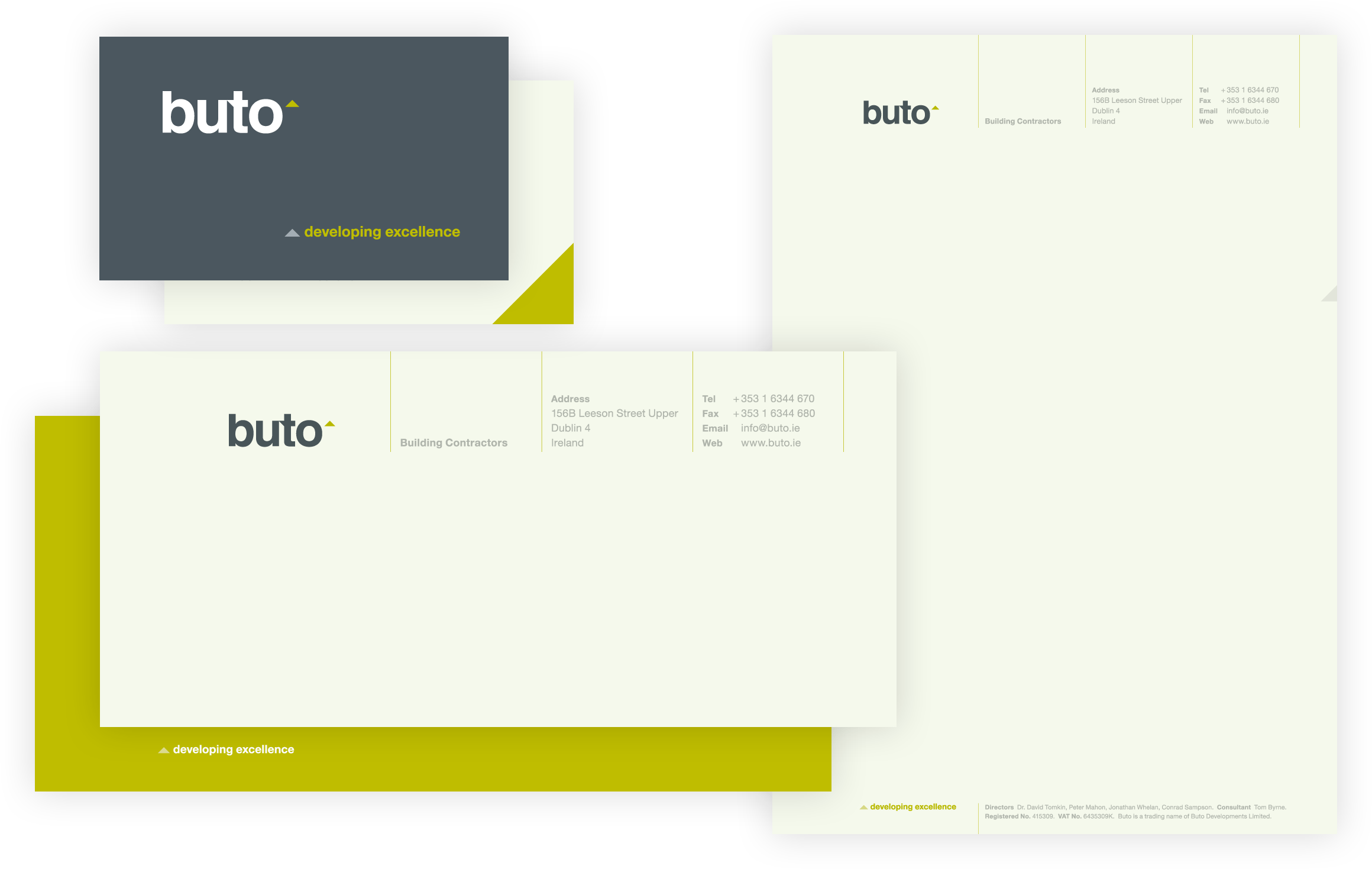 Buto Stationery Suite