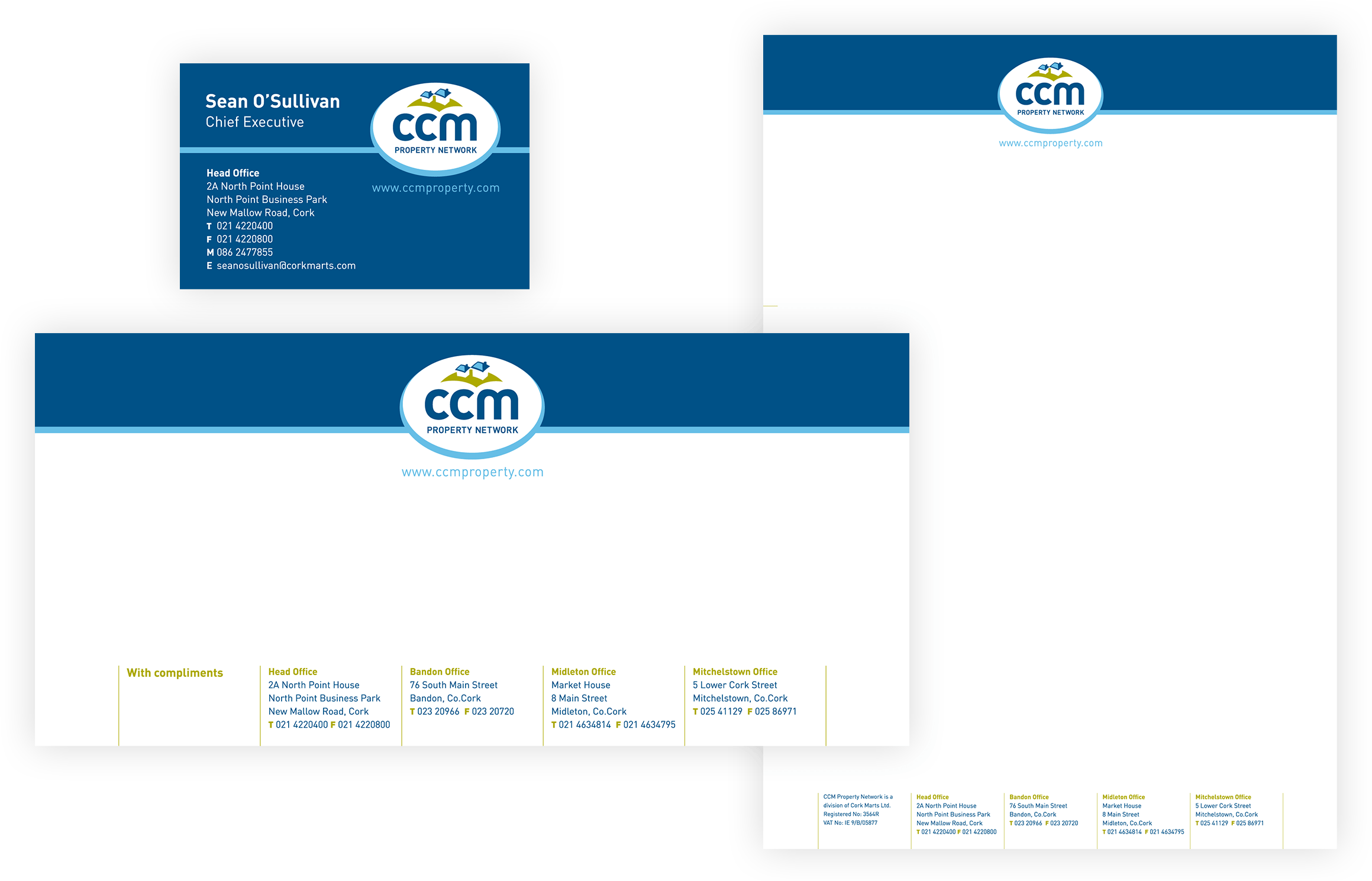 CCM Stationery Suite