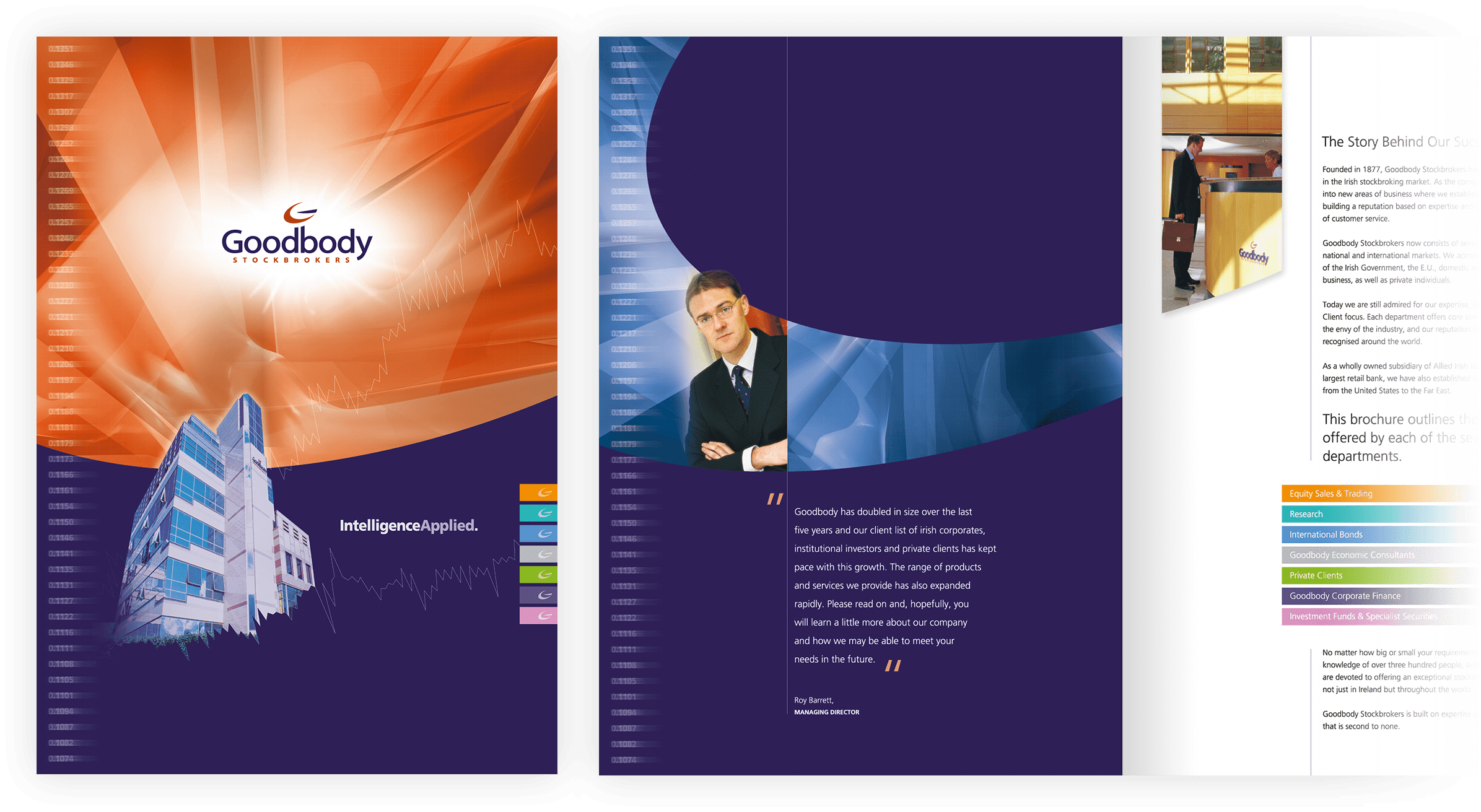 Print design for Brochure Suite