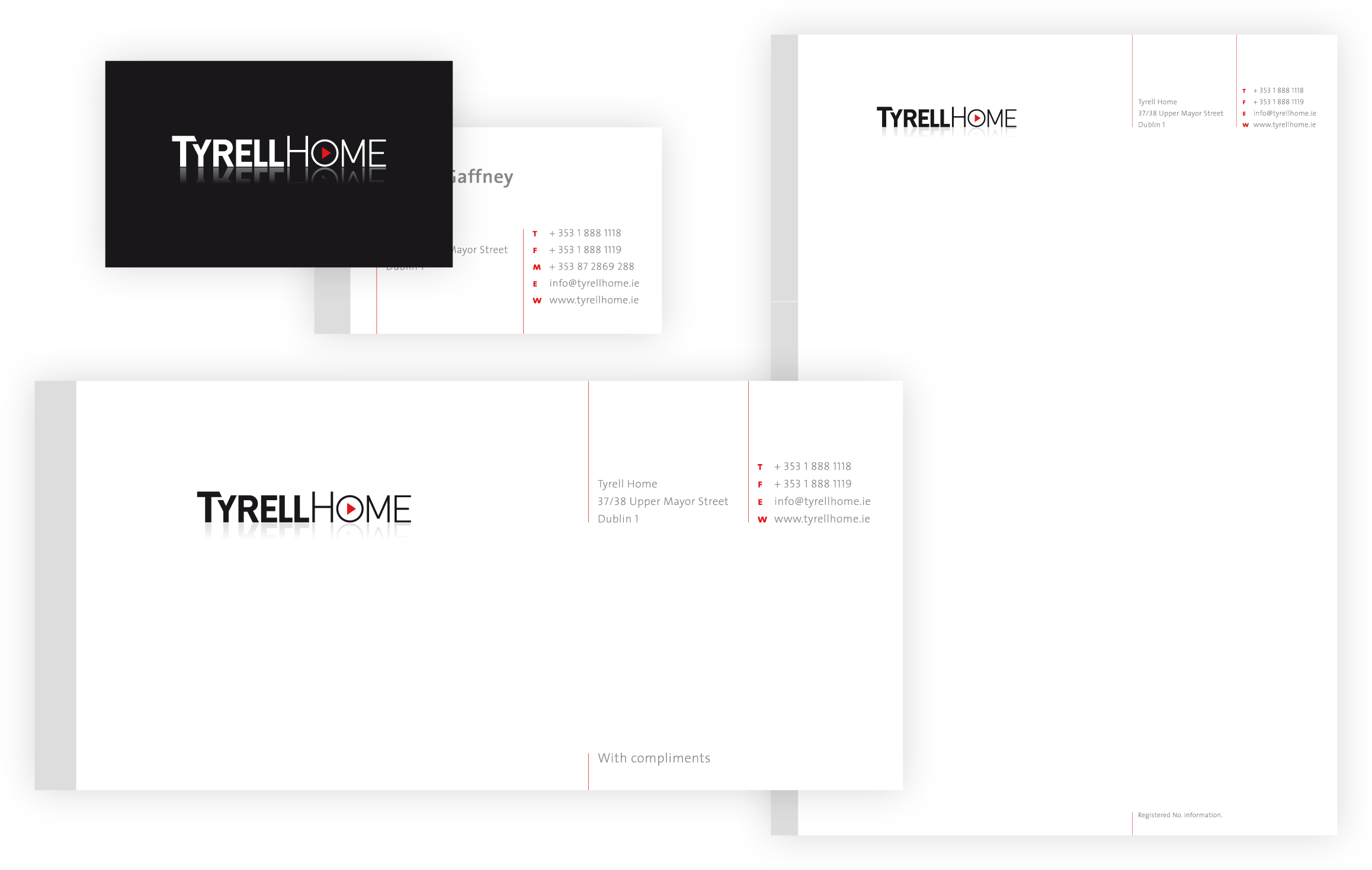 Tyrell Home Stationery Suite