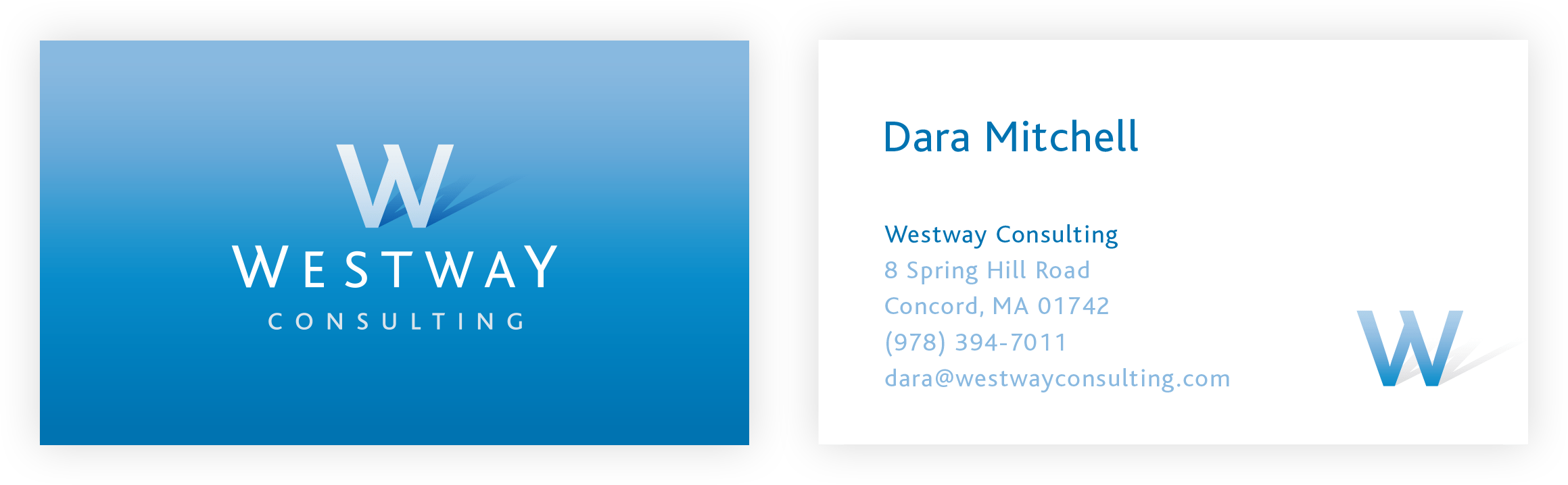 Westway Consulting Business Card