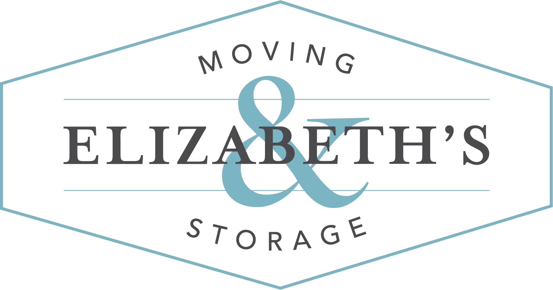 Elizabeth Moving and Storage Logo - Teal