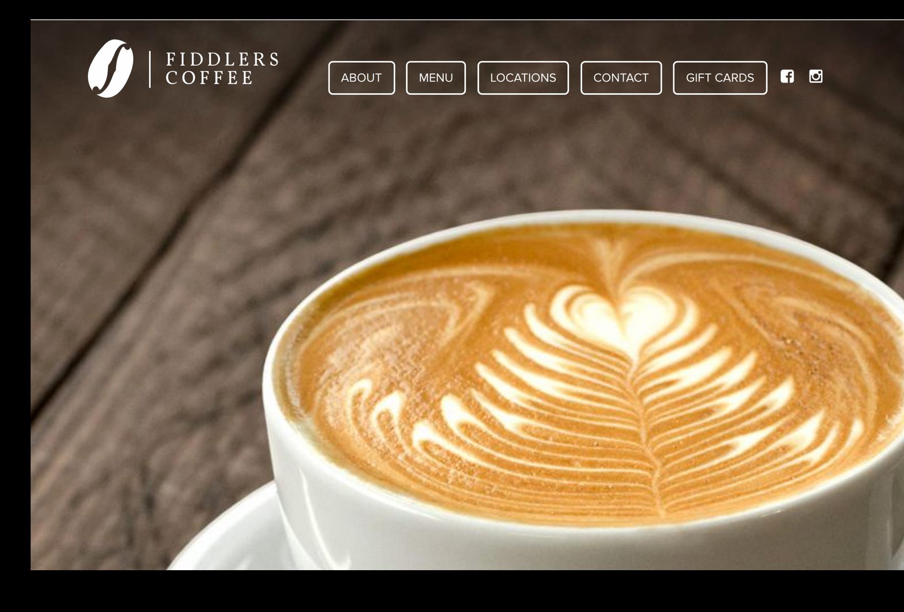 Fiddlers Coffee Website