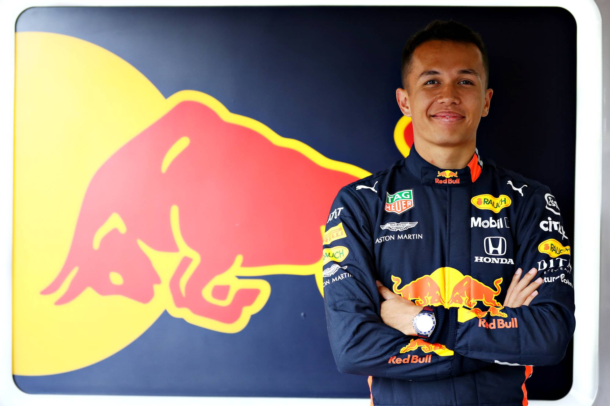 Alexander Albon   2020 Aston Martin Red Bull Racing Thai Formula 1 Driver