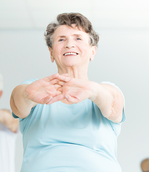 Free exercise classes for the over 65's in Braintree