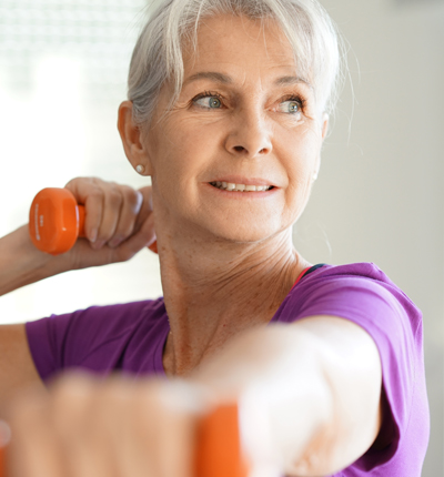 Free exercise classes for the over 65's Braintree