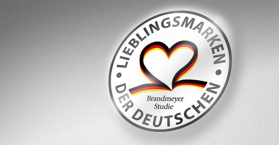Siegel Lieblingsmarken der Deutschen
