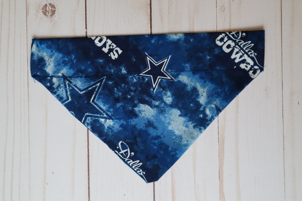 Handmade Cowboys Dog Bandana