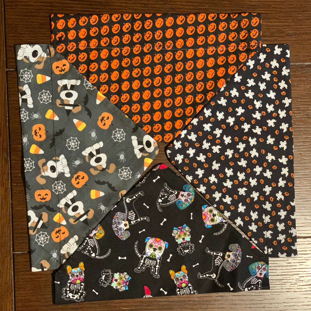 "Handmade ""Ghosty Ghosts"" Bandana"