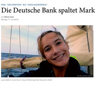 Die Deutsche Bank spaltet Markenexperten