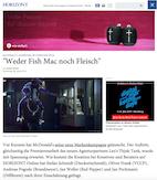 """McDonald's im Expertencheck: """"Weder Fish Mac noch Fleisch"""""""