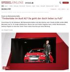"""Promis als Markenbotschafter: """"Timberlake im Audi A1? Da geht der doch lieber zu Fuß"""""""