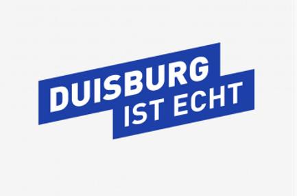 Duisburg ist echt. Slogan und Logo