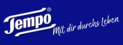 Tempo Taschentuch Logo