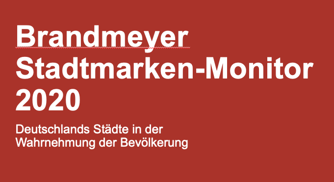 Brandmeyer Stadtmarken-Monitor 2020