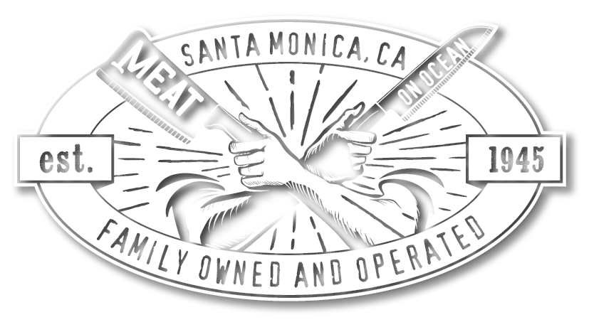 Meat On Ocean Logo, established 1945