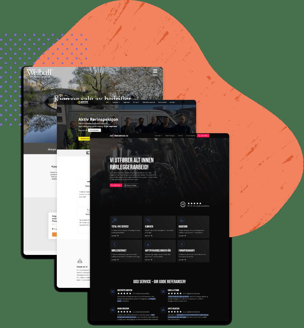 hjemmesider til bedrifter