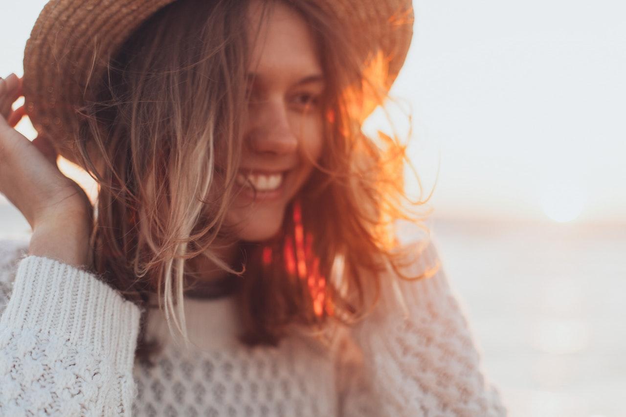 Woman Smiling Image