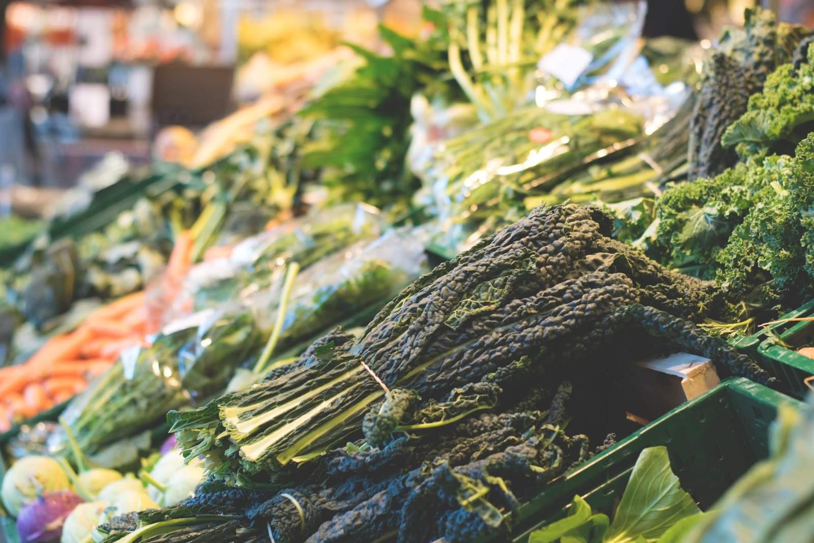 leafy greens for teeth health