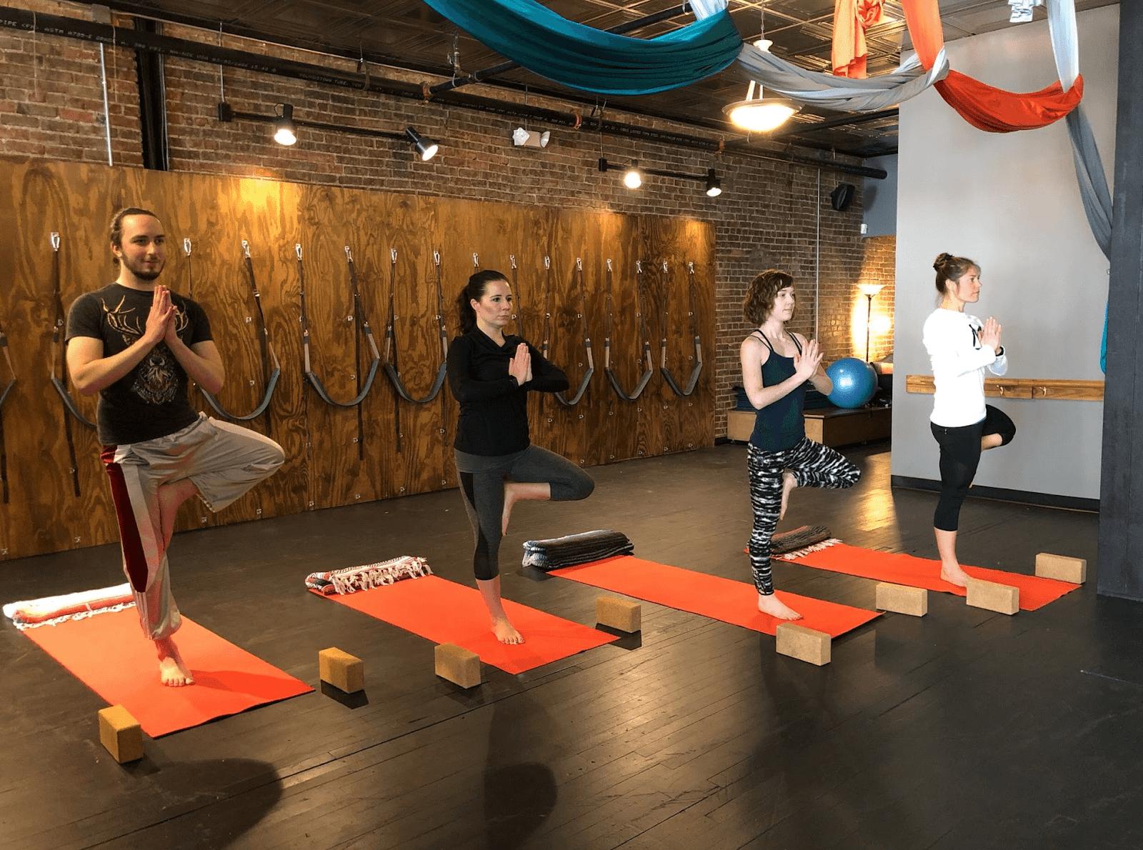 downtown pittsburgh yoga