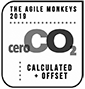 CO2 compensated badge for 2019