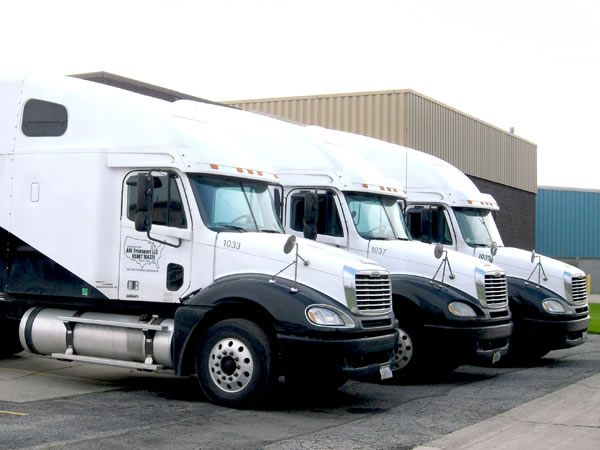 Fleet of ARL Network Trucks