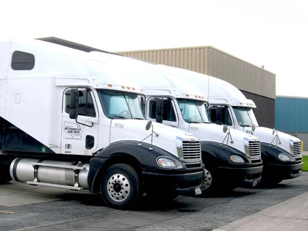Fleet of ARL Network Trucks