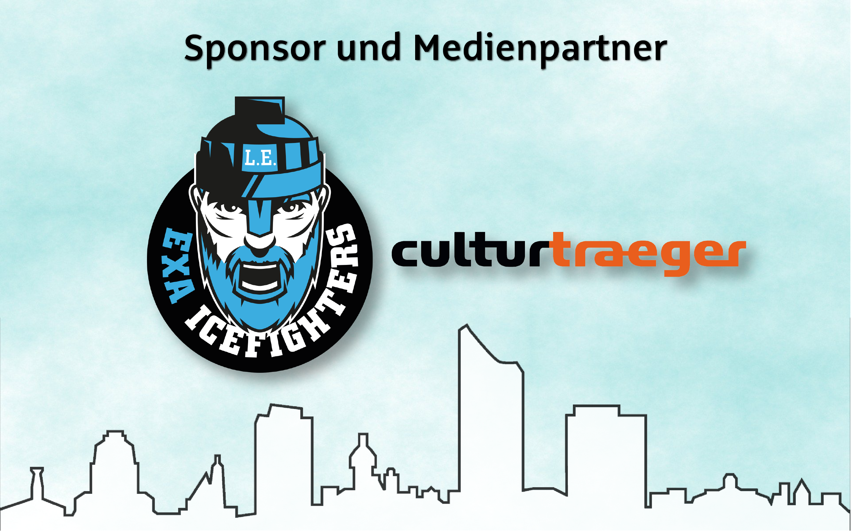 Logo IceFighters und Logo culturtraeger
