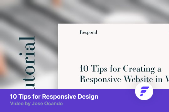 Ten Tips for Responsive Website