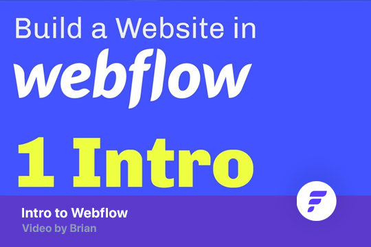 Intro to Webflow