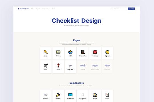 Checklist Design