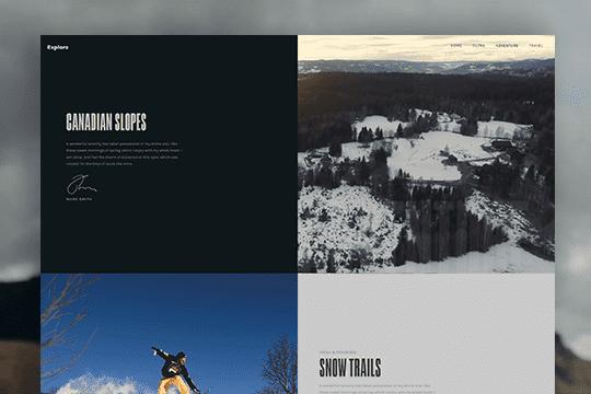 Canadian Slopes