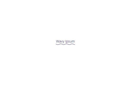 Wavy Button