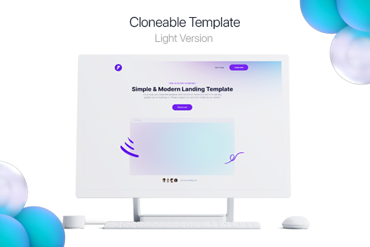 Cloneable Light Template