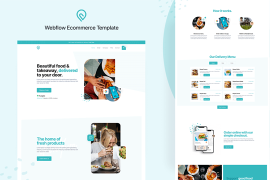 Chomp: Food & Delivery Template