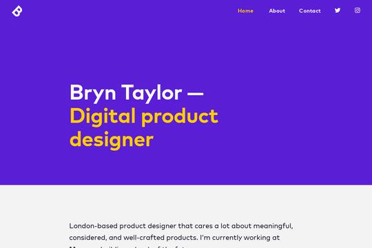 Bryn Taylor Designer