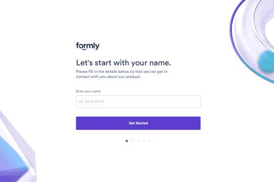 Webflow Onboarding Form
