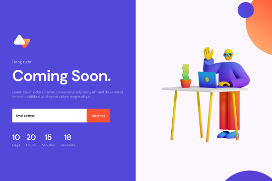 Webflow Coming Soon (03)