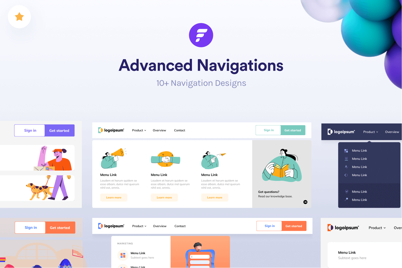 Webflow - Navigation Collection