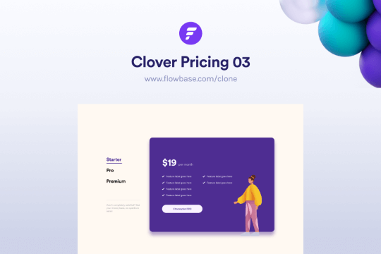 Webflow Price Component 03