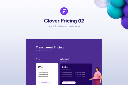 Webflow Price Component 02