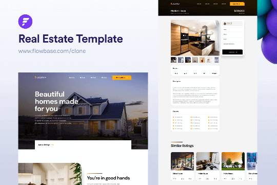 Webflow Real Estate - Plantilla