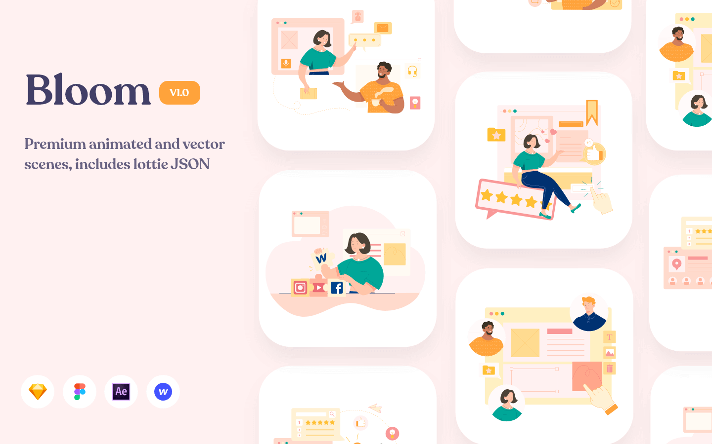 Bloom: Premium Illustrations