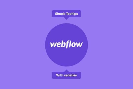 Cómo añadir información sobre las herramientas de hover en el flujo web