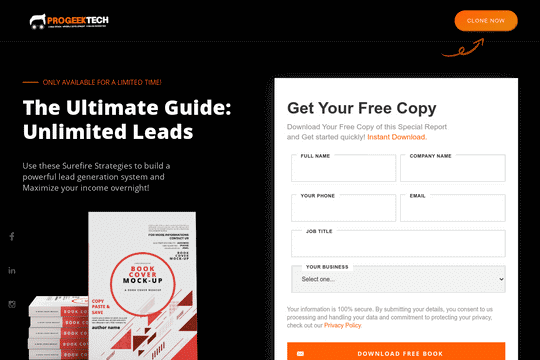 Ebook Lead Form