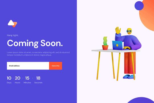 Webflow Coming Soon (03)