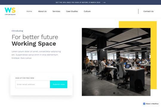 Plantilla de espacio de trabajo