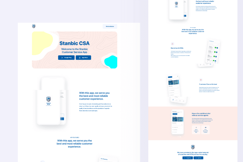 Stanbic Webflow Template