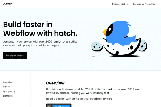 Hatch - Webflow-Framework
